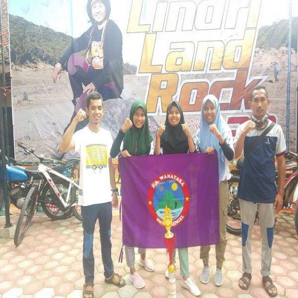PA Wanatara Menyabet Medali Perunggu Tingkat Nasional dalam Event Lindri Land Rock 2020