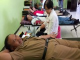 """""""Orasi Anti HIV dan AIDS serta Donor Darah"""" Sebagai Wujud Aksi Sosial PMR"""